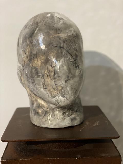 Kris Gebhardt, 'Speak My Mind', 2021, Sculpture, Fired plaster with oil paint, wax,varnish, Gebhardt Gallery