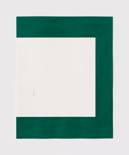 , 'Untitled Cut, O#14,' 1977, Bookstein Projects
