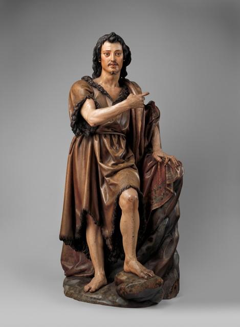Juan Martínez Montañés, 'Saint John the Baptist', ca. 1620–1630, The Metropolitan Museum of Art