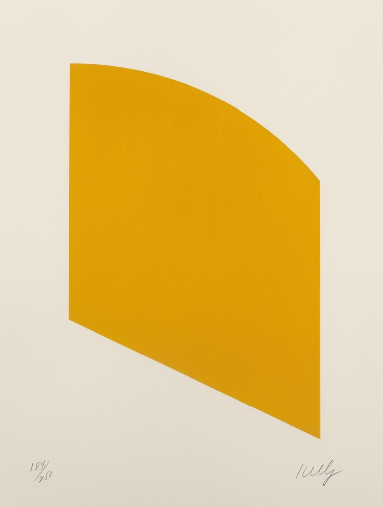 Ellsworth Kelly   Orange (2004)   Artsy