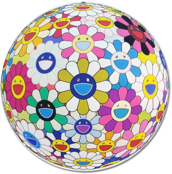 Takashi Murakami, 'Flower Ball (3D) Autumn 2004', 2013, Gallery Delaive