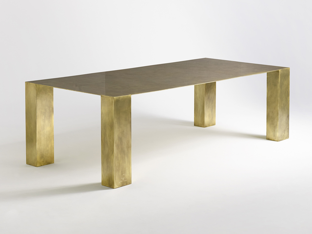 Brian Thoreen, 'Brass Dining Table', 2015, Patrick Parrish Gallery