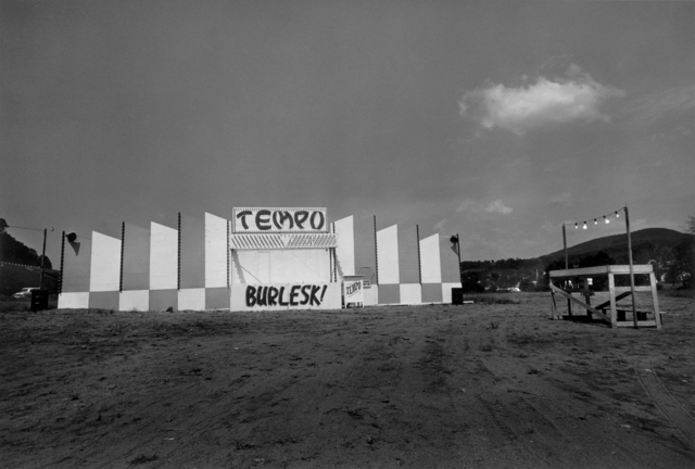 , 'End of the lot, Essex Junction, VT,' 1973, Danziger Gallery