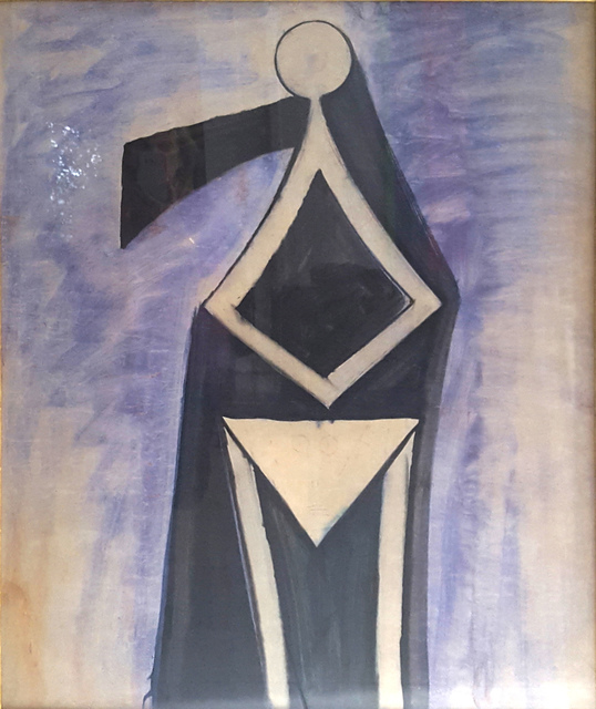 wilfredo lam, 'Untitled', ca. 1948, Painting, Gouache on paper, Bethesda Fine Art