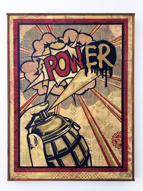 Shepard Fairey, 'POWER HPM 1/2', 2011, Galerie C.O.A