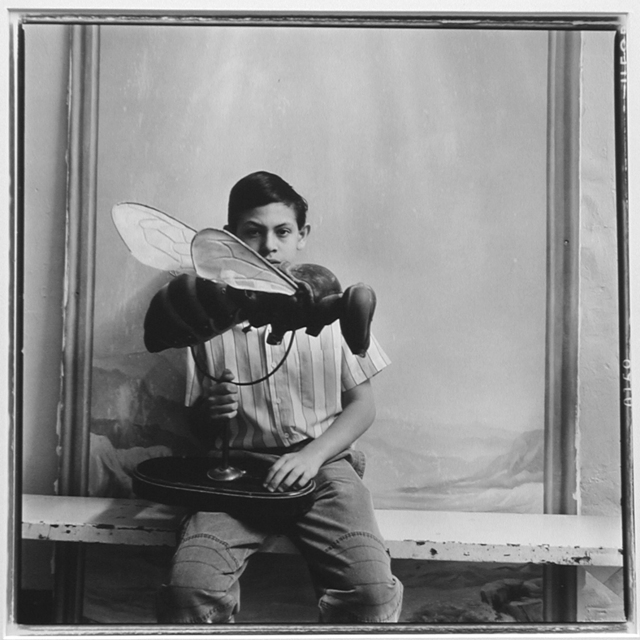 Keith Carter, 'Boy with Bee', 1990, PDNB Gallery