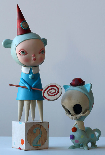 , 'Blue Alice and Masao,' 2014, AFA Gallery