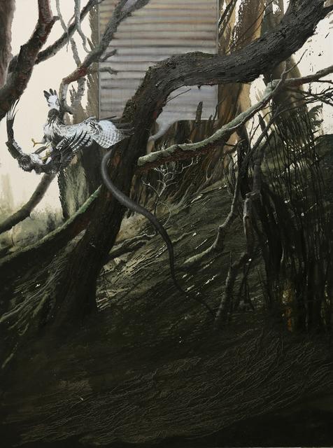 , 'Untitled (Hai Dong Qing / Gyrfalcon),' 2013-2014, Pékin Fine Arts