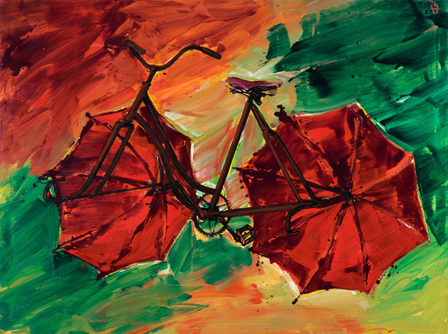, 'Bicycle II.,' 2017, DSC Gallery