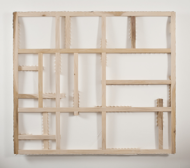 , 'TACKY GRID,' 2015, Greg Kucera Gallery
