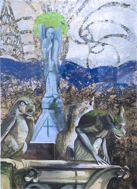 Thomas John Carlson, 'Notre Dame Roof', 2018, Deep Space Gallery