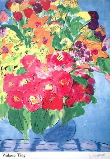 , 'Flowers,' 1990, ArtWise