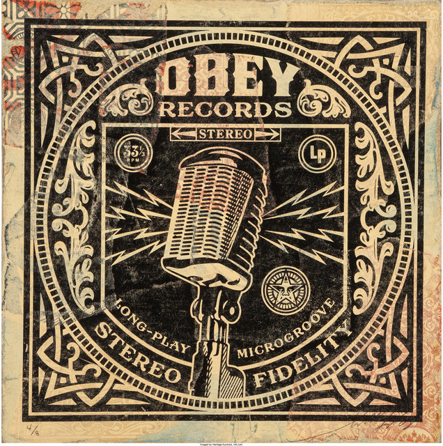 Shepard Fairey, 'Long-Play (HPM)', 2011, Heritage Auctions