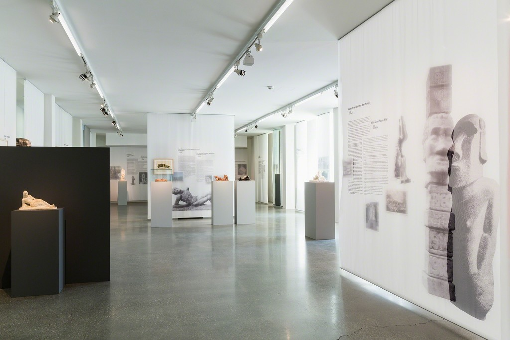 """Fritz Wotruba: Monuments, Sculpture, and Politics"" at 21er Haus, Vienna. Courtesy of Fritz Wotruba Private Foundation, Belvedere, Vienna. Photo: Sophie Thun."