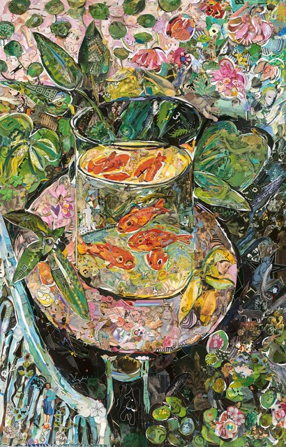 , 'Hermitage Museum (The Goldfish, after Matisse) (Repro),' 2016, Ben Brown Fine Arts