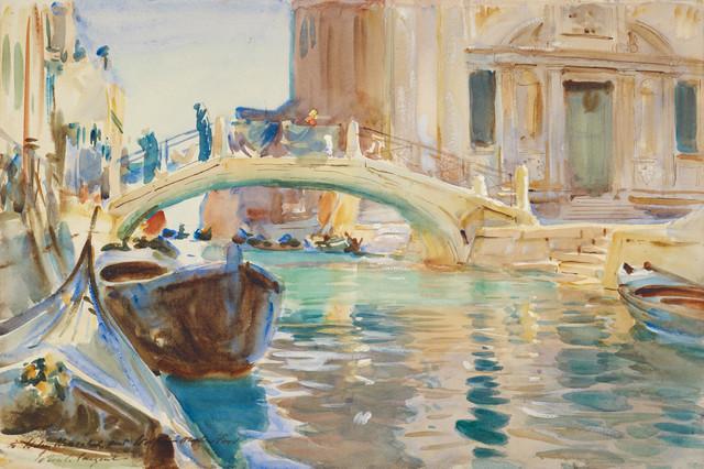 , 'San Giuseppe di Castello, Venice,' ca. 1903, Isabella Stewart Gardner Museum