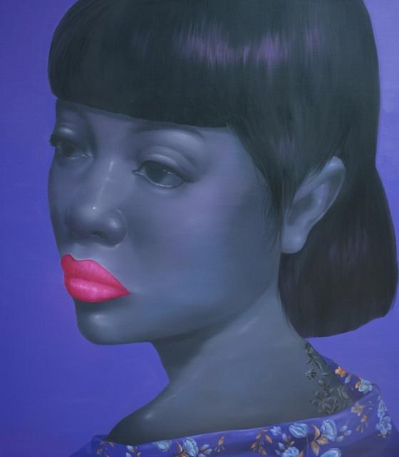Attasit Pokpong, 'GIRL WITH PURPLE', 2014, S.A.C. Gallery Bangkok