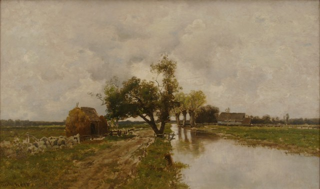 Frederick Kost, 'Riverside', ca. 1895, Private Collection, NY