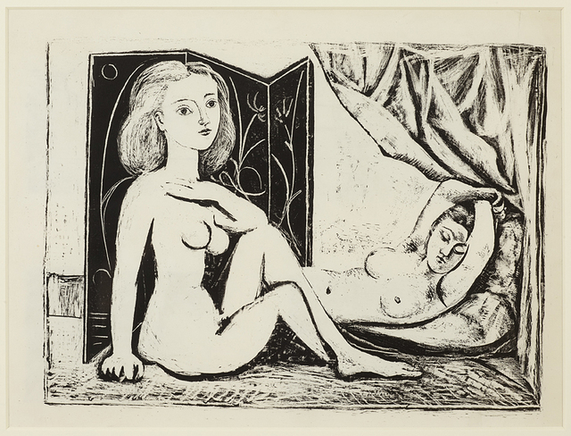 , 'Les Deux Femmes nues, State 9, 10th January 1946,' 1946, Alan Cristea Gallery