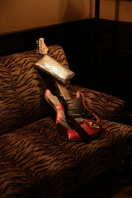 Agathe Snow, 'Guitar Handbag Sculpture - Stamina Series', 2016, ART CAPSUL