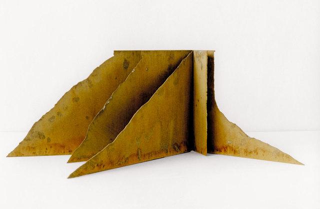 , 'Modell für eine Skulptur aus Corten-Stahl,' 1992, Galerie Kellermann