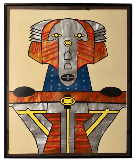 Karl Wirsum, 'Venetian Robot', 1981, Aaron Galleries