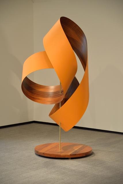 Paul Vexler, 'Skewered Orange Loops', 2015, Sculpture, Wood, Foster/White Gallery