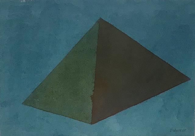 Sol LeWitt, 'Small Pyramid', 1985, Vernissage Art Advisory