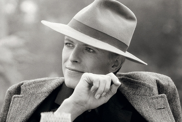 , 'David Bowie with hat,' 1976, Ransom Art
