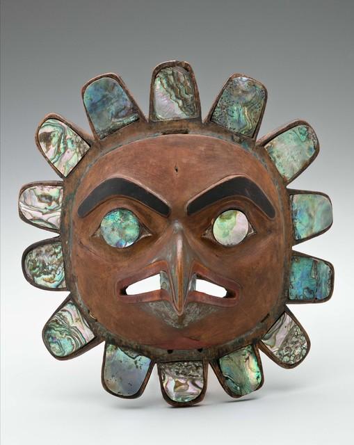 , 'Chief's Headdress Frontlet; British Columbia,' ca. 19, Newark Museum