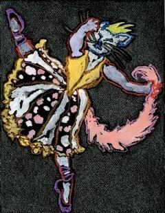 Eleanor Hubbard, 'Astrid: From the International Cat Ballet Series', 2008, Walter Wickiser Gallery