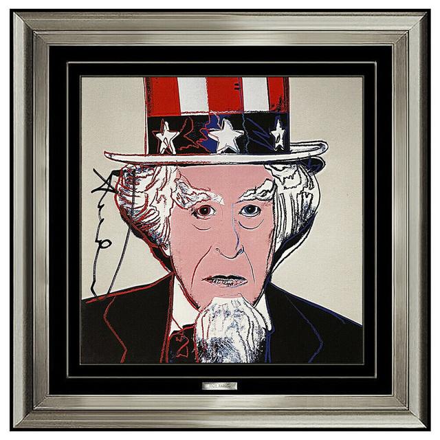 Andy Warhol, 'Warhol Uncle Sam Invitation ', 1981, Ephemera or Merchandise, Color Lithograph, Original Art Broker