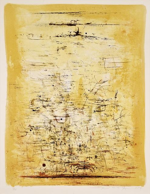 Zao Wou-Ki 趙無極, 'Vol d'Oiseaux ', 1954, Galerie F. Hessler