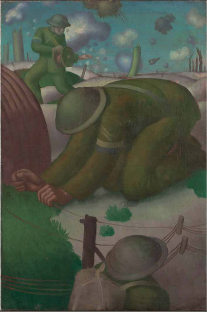 Colin Gill, 'Soldiers Laying Telephone Wire', 1918, Liss Llewellyn