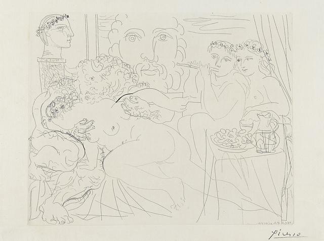 Pablo Picasso, 'Minotaure caressant une Femme from La Suite Vollard', Rago/Wright