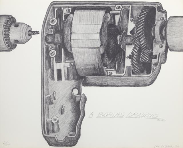 Lee Lozano, 'A Boring Drawing', 1969, RoGallery