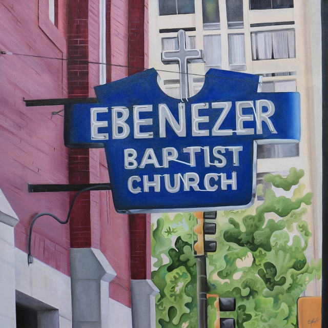 , 'Ebenezer Baptist Church,' ca. 2018, Brickworks Gallery