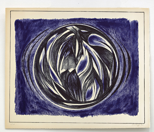 Sonia Gechtoff, 'Untitled', 1963, Print, Lithograph on paper, David Richard Gallery