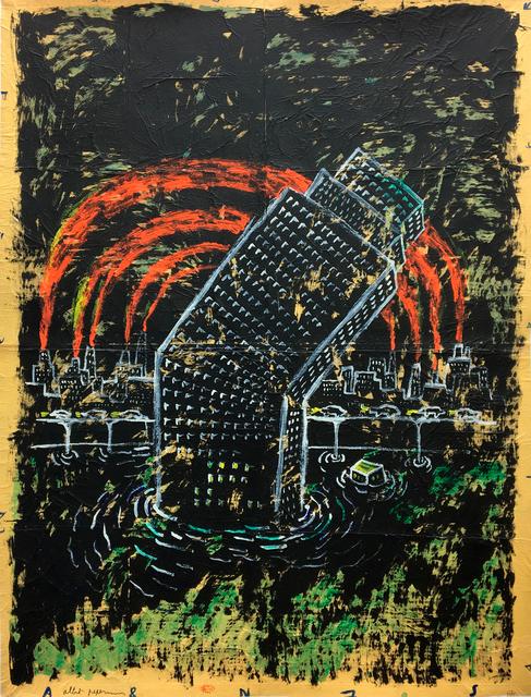, 'Broken tower,' 90s, Galerie Zwart Huis