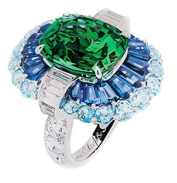 , 'Ring (Green and Blue) ,' , MAMAN Fine Art Gallery
