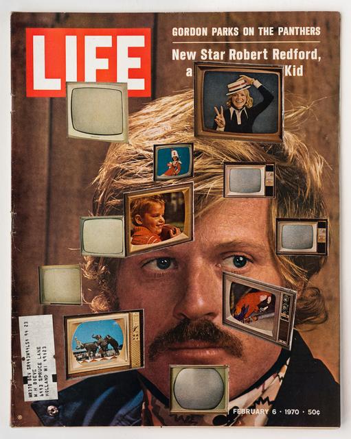 , 'LIFE Cutout No 042, February 6, 1970 (Redford TVs),' 2018, Luis De Jesus Los Angeles