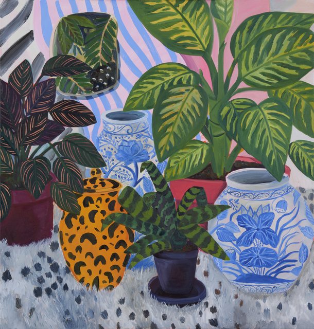 Anna Valdez, 'Leopard Prints', 2019, Painting, Oil and acrylic on canvas, David B. Smith Gallery