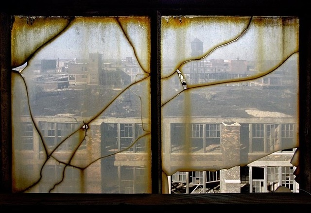 , 'Window, Packard Motors Plant,' 2005, Galerie Fontana