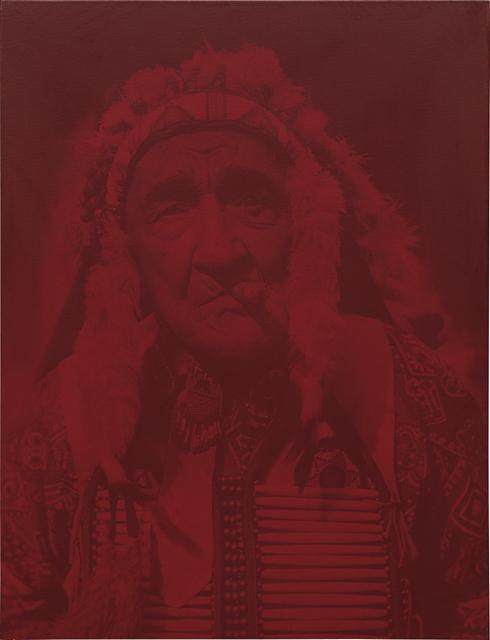 Gottfried Helnwein, 'Chief Red Fox', 2000, Phillips