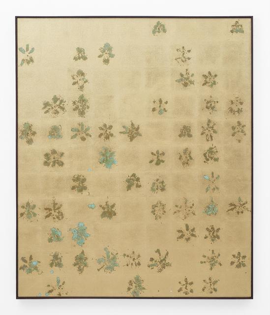 Pierre Vermeulen, '54   99 hair orchid sweat prints', 2018, SMAC