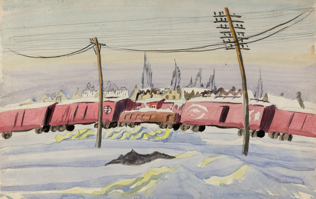 , '(Untitled) The Freight Train,' , Questroyal Fine Art