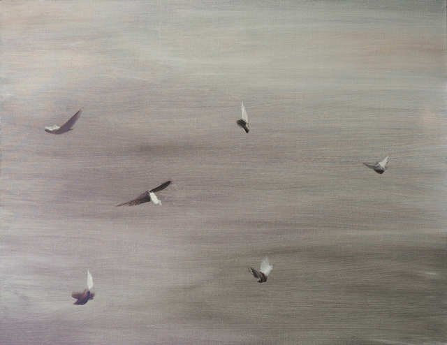 , 'Six Pigeons,' 2015, Boers-Li Gallery