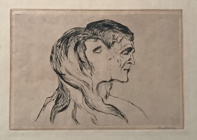 , 'Hode ved hode (Head by Head),' 1905, Modernism Inc.