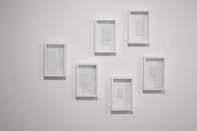 , 'Rasaîl,' 2012, Sabrina Amrani