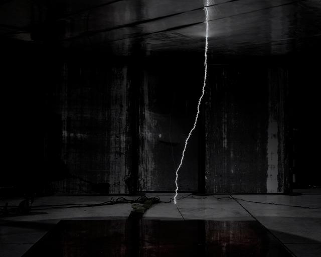 , 'Untitled (Lightning),' 2016, Galerie Christophe Gaillard